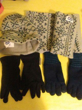 Rebajado Lote invierno guantes bufanda gorro