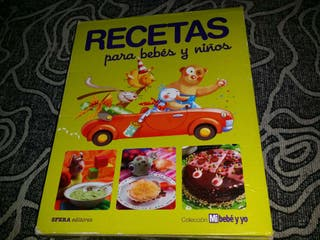 Colección de libros Recetas para bebés y niños
