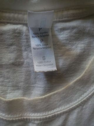 camiseta de BMTH blanca sin mangas