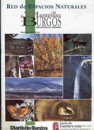 Álbum de cromos Maravillas de Burgos