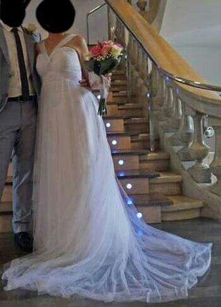 Vestido novia de Clara novias