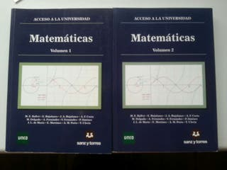 Libros de matematicas uned