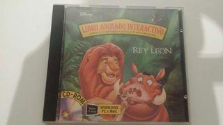 El rey león libro interactivo