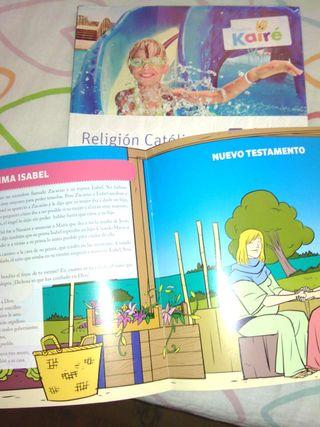 Libro Religión . Quinto SM