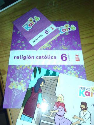 Libros sexto. Religión. SM