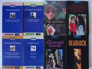 Lote libros de lectura para aprender ingles