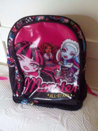Mochila Monster High 5 euros
