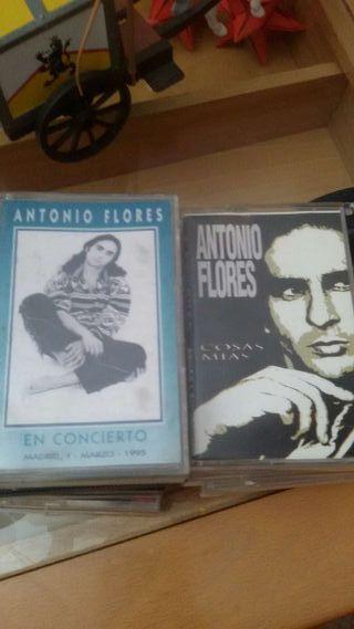 2 Cintas casette Antonio Flores
