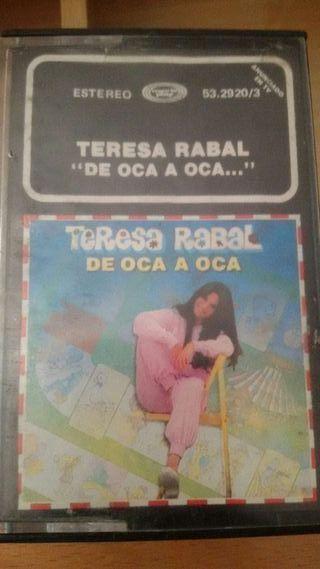 Cinta casette Teresa Rabal...de oca a oca