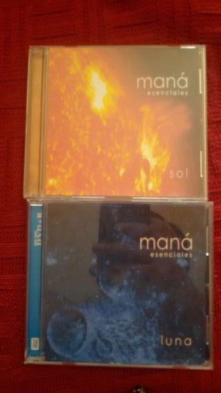 2 cd Maná.....Sol y Luna
