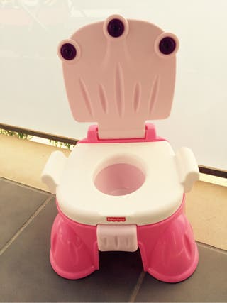 WC Musical Fisher Price Baño infantil