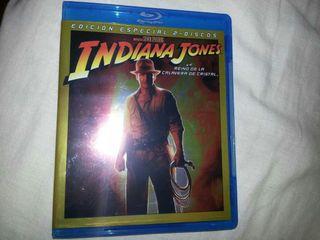 2 Bluray Indiana Jones y el Reino de la Calavera de Cristal