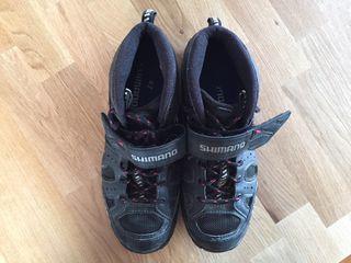 Zapatos 41-42 Bicicleta de Montaña con Calas