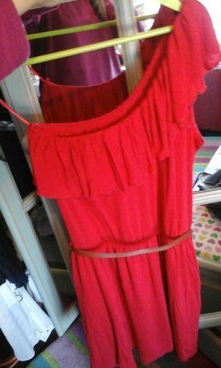 Vestido rojo de stadivarious talla L