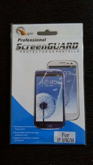 Protector de pantalla para iphone 5