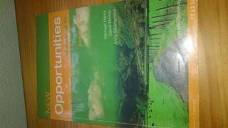 """Libro de inglés """"New Opportunities"""" 1Bachillerato"""