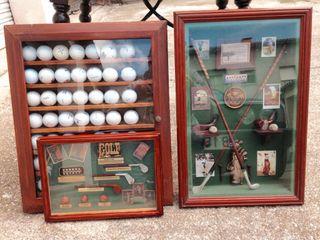 3 cuadros de golf antiguos de segunda mano por 70 en taradell wallapop - Wallapop muebles antiguos ...