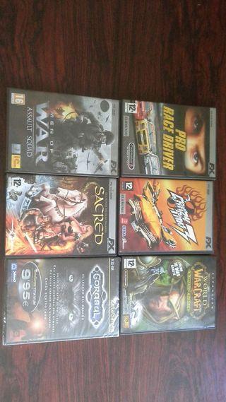 Juegos de pc-dvd-cd rom