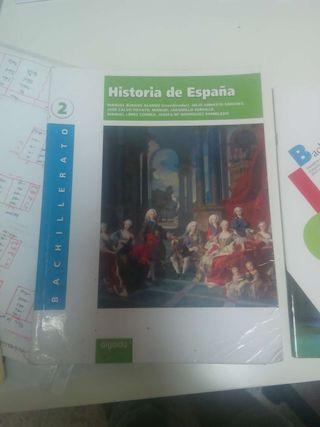 Libro historia segundo bachiller #URGE