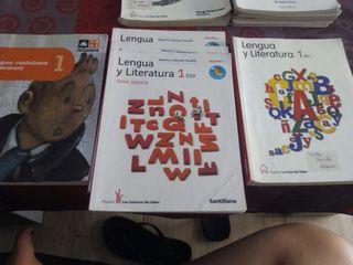 Libros de lengua y literatura de 1 ESO