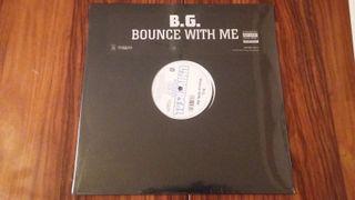 VINILO B.G. - BOUNCE WITH ME - RAP HIP HOP