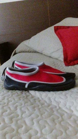 Zapatillas pies de gato