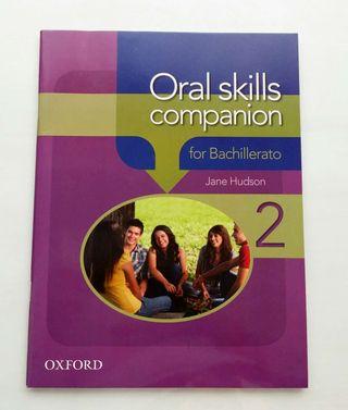Libro inglés Oral Skills Companion 2°Bachillerato