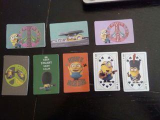 Vendo cartas minions baraja mágica