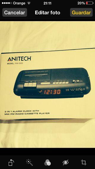 Radio Cassette Nuevo Y Potente