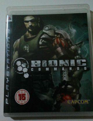 Ps3 juego BIONIC COMMANDO