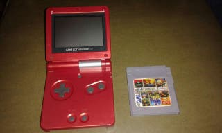 Gameboy advance sp,108in1,solo en casa,sife pocket