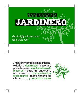 Jardinero economico
