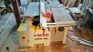 máquina universal de carpintería