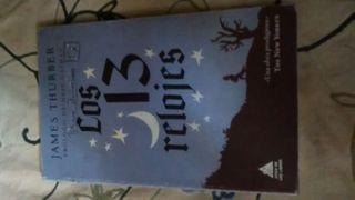 """Libro """"los 13 relojes"""""""