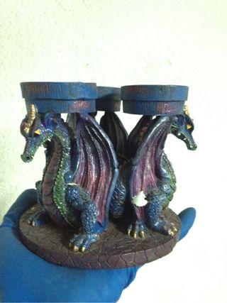 Dragones Porta Velas