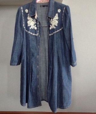 Camisa O Vestido Vaquero