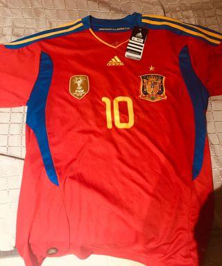 Camiseta España Cesc Fabregas