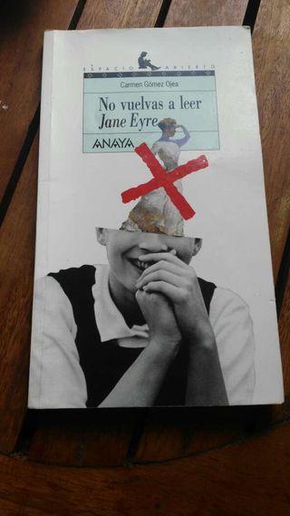 No vuelvas a leer Jane Eyre