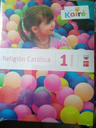 Libro Religión 1° Primaria precintado
