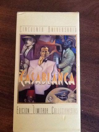 3 Vídeos VHS Casablanca