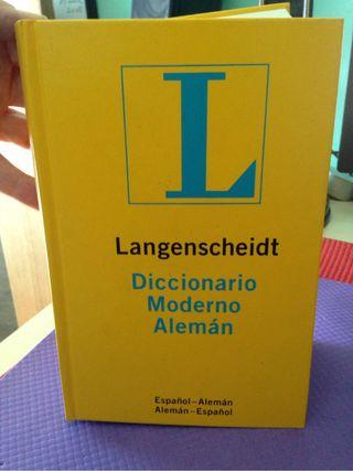 Diccionario Moderno Alemán-Español
