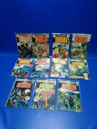 Cómics en inglés Losers dc cómics 12 números