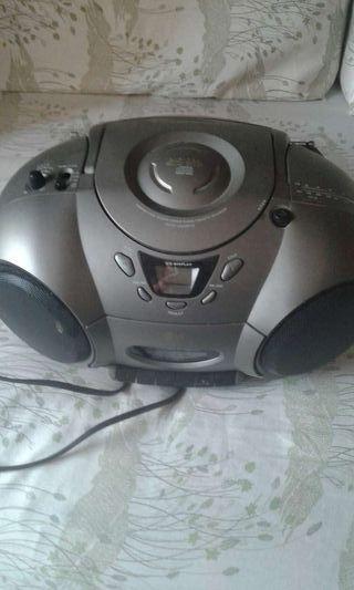 Radio cd cassete retro