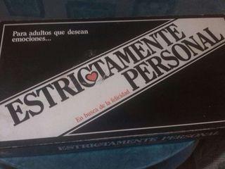"""Juego """"Estrictamente Personal"""""""