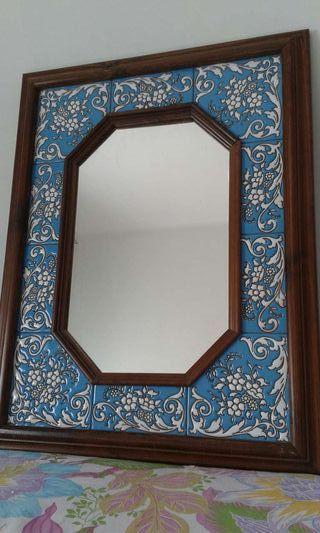Espejo ceramica