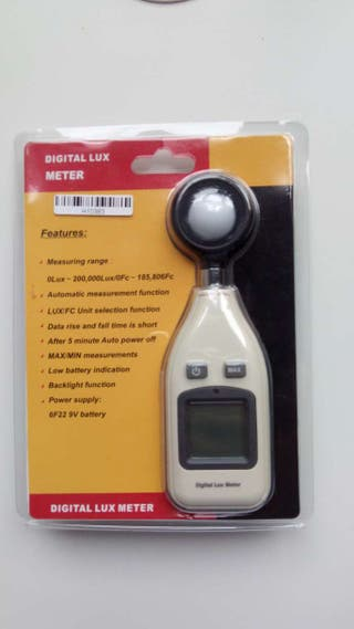 Fotómetro / medidor de luz NUEVO
