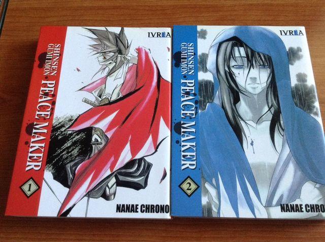 Manga Shinsen Gumi Imon Peace Maker