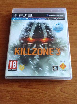 Videojuego Kill Zone 3 PS3