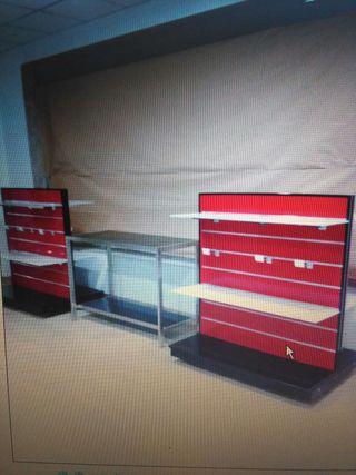 muebles tienda estanterias