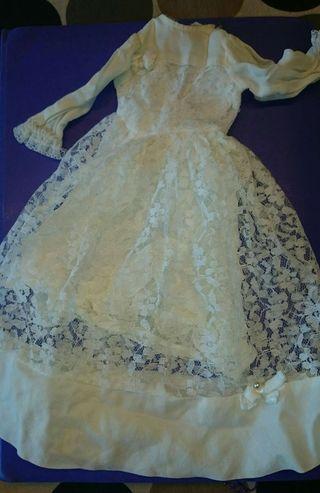 Nancy vestido de novia
